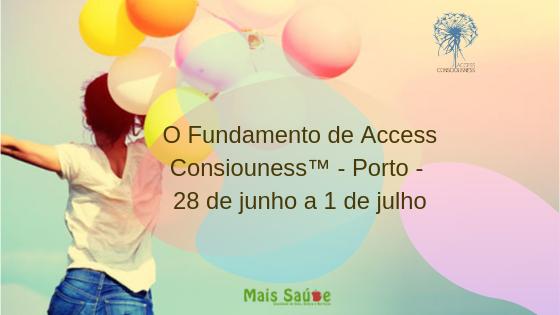 Formação – O Fundamento de Access Consciousness® – De 28 de junho a 01 de julho de 2019